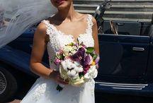 O mireasa... Pretioasa! <3 / O rochie realizată cu mult drag pentru miresica noastra Corina, cu decupaje delicate, cu broderie lucrata manual si cu aplicații din perle Swarovski. Multumim Corina ca ne-ai ales! Casa de Piatra si multă fericire!!!