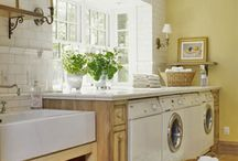 HOME: Laundry Room / Inspiration for the monotony.