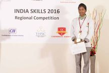 'INDIA SKILLS 2016' CULINARY COMPETITION ON 18TH JULY /  Food & Beverage Service, Pastry and Cooking categories, respectively, in South Zone's culinary competition, organized by NSDC (National Skill Development Corporation under the Ministry of Skill Development & Entrepreneurship), CII (Confederation of Indian industry), and THSC (Tourism & Hospitality Skill Council) recently at Chennais Amirta college campus.