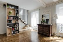 Escaliers aménagés