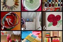 Craft and Sewing Supplies- Organization Ideas / by Ashley Adams