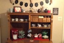 Coffee bar / Coffee themed kitchen / by Krista Ryan