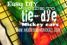 Easy Disney DIY / Crafts, painting, gluing, and all sorts of DIY fun!