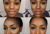 Makeup for darker skin