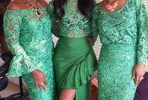 Nigerian wedding dresses,Ankara & African prints