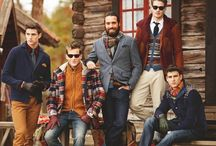秋のファッション男性