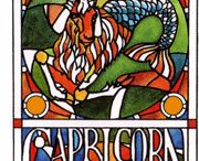 "☼ CAPRICORN / If you are a Capricorn, you belong not to the sign of the goat but to the sign of the sea-goat; a mythical creature that represents ""the doorway to another world"". Remember this and have more faith in the visions and ideas that constantly flood through your busy brain. Believe in yourself, not the nonsense that they speak about your sign."