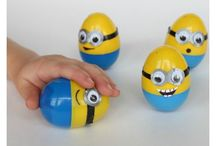 plastic eieren