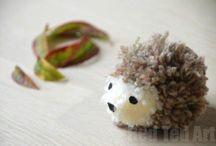 DIY Hedgehog Crafts and Decor