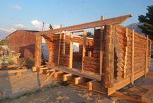 ağaç ev yapım aşaması