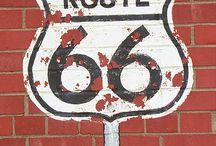 Route 66 tattoo girl