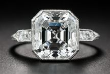 Vintage Engagement Ring Ideas / Vintage engagement rings are our specialty!  Find an era to match your style - filigreed Edwardian, geometric Art Deco, or a classic Mid-Century solitaire.  Or pick a vintage gemstone engagement ring for something unique and memorable.