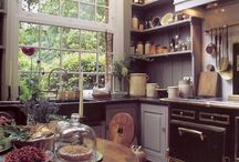 country kitchens / by Diane McCaffery