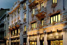 Via Spadari, 9 / Lo storico negozio di via Spadari, i banchi, ed i prodotti della storica gastronomia milanese.