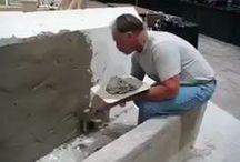 construction mur béton