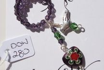 """doinWire-Wine-Charms / Images of my doinWire handcrafted wire  """"plonky jewellery"""" - it's a little bit different."""