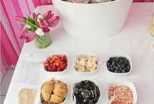 wedding icecream bar