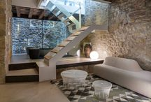 Kőház előtér, lépcső / A kőház előszobájához, lépcsőjéhez inspirációk