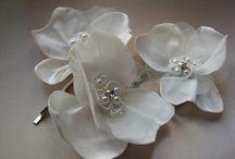 BRIDAL HAIR FLOWER / Hair clips, Mini hair flowers, Hair accessories, Mini hair flowers, Bobby pins