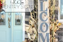 Fall Sign Ideas / by Lauren McCormick