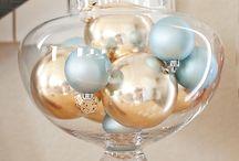Saison - Noël Gold and Blue