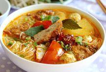 Vietnamese Noodle Recipes  / Bún/ Hủ Tiếu/ Mì/ Phở