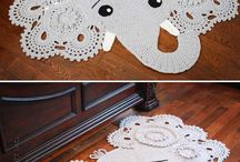 Crochet Rugs / Large Doilies