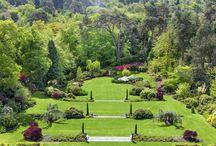 Английский террасный сад