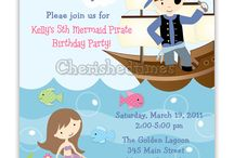 Pirate and Mermaids Party ideas