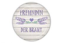 HOCHZEIT lavendel / Accessoires, Dekoration & Gastgeschenke zur Hochzeit mit Lavendel
