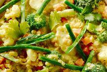 Vegie/ vegan eten
