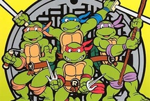 Teenager Mutant Ninja turtles posters / 90's classic cartoon poster