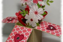 Valentine cards and projects