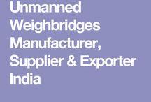 Unmanned Weighbridges Manufacturer, Supplier & Exporter India