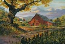 Barns (1) / by Beverly Lett