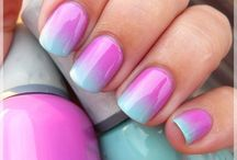 Nails!...... / Wonderful ideas and colors for nails! / by Sandra Walling