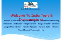 Thickness Gauge Manufacturers / If you search for a Thickness Gauge Manufacturers, so, your search ends at India Tools & Instruments Co. Since 1975, we are in the same industry to offer portable and technological advance thickness gauge that too at a fair price.