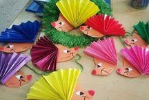 skládanky z papíru pro děti