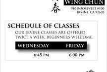 Wing Chun Classes / Wing Chun classes at Irvine Wing Chun