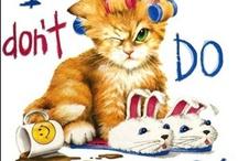 Cat Cross Stitch / by Tammy Alderink-Paige