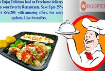 home delivery food in gwalior / You can enjoy your favourite fast food without having to worry about going to the restaurant and waiting in long queues at rush hours. Satisfy your fast food cravings with the help of #Wroofers