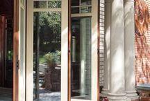 Puertas porche plegables