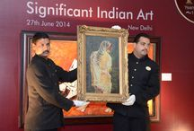 Indian Art Auction / Bid & Hammer's auction on 27th June 2014 in New Delhi includes works from the 8th century to the 20th century, lead by artists M F HUSAIN, V S GAITONDE, S H RAZA and RAM KUMAR amongst others.