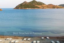 Patmos best beaches / #Patmos Island is a unique location that is dressed in the blue and white colors of the Aegean Sea. http://goo.gl/iea3ES