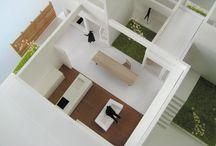 建築模型【KKAA+krip】 / 金田圭二建築設計事務所とkripで制作した模型