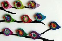 Crochet - pajaritos