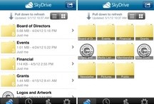 Storage ideas for iPads & other devices e.g.  iCloud, Dropbox