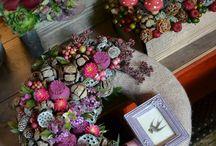 Coronite Craciun handmade
