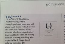 Q WINE REVIEWS / What the critics say...