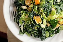 Salads / eating my greens  / by Kathy Murphy